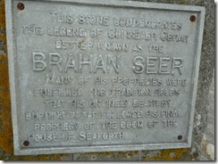 chanonry point brahan seer plaque