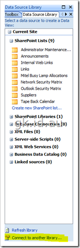 Data View Web Part sharepoint 2007 sharepoint