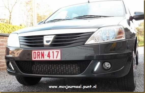 Dagrijlicht montage Dacia MCV 03