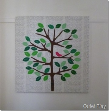 Family Tree Quilt - on canvas