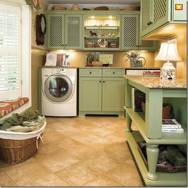 Laundry Room Color Scheme