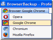 Backup completo del browser internet con BrowserBackup Pro