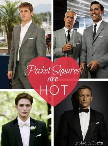 pocket squares are hot