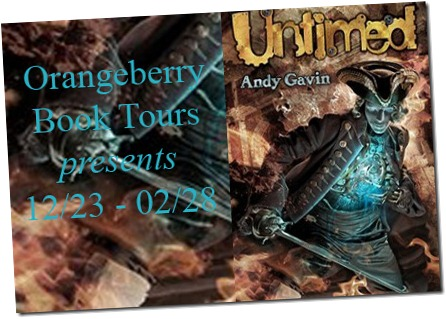Orangeberry Book Tours – Untimed by Andy Gavin