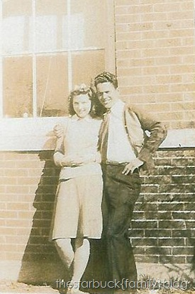 Grandpa Udyne Shockley Austin courtship with shirley