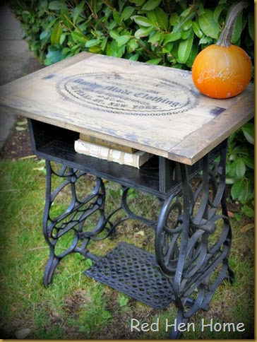 Red Hen Home Treadle Table 5