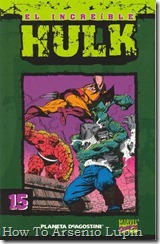 P00015 - Coleccionable Hulk #15 (de 50)