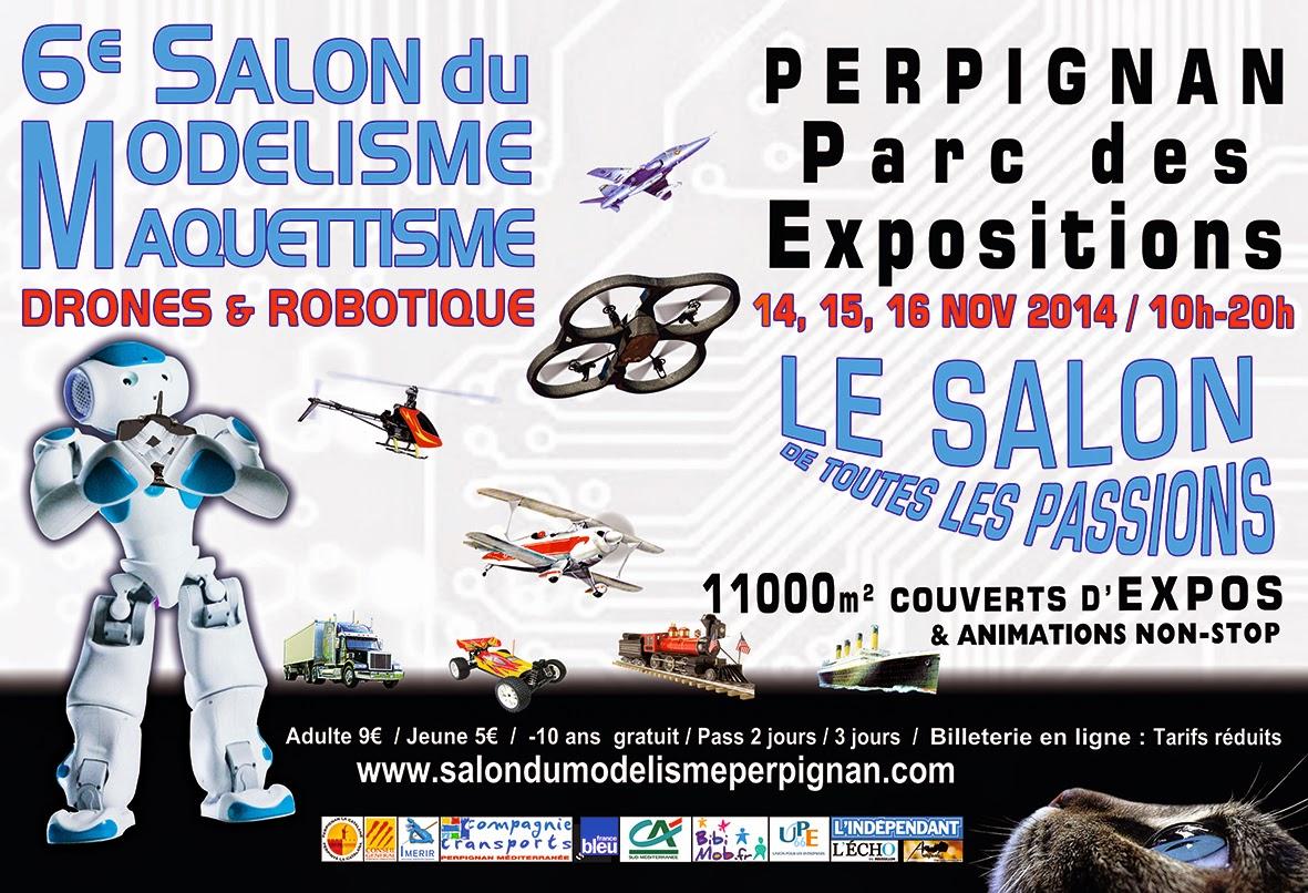 Br ves de l 39 espace mod lisme l 39 affiche du salon pour la - Salon du taf perpignan ...