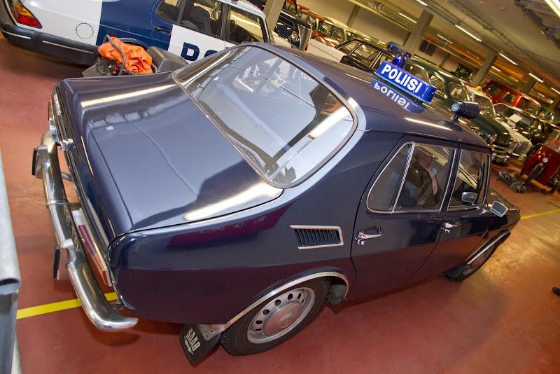 1968 Saab 99 Police Car, 4-door, Finland