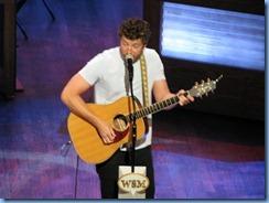9123 Nashville, Tennessee - Grand Ole Opry radio show - Brett Eldredge