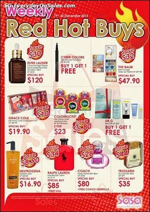 Sasa Weekly Red Hot Buy Singapore Jualan Gudang Jimat Deals EverydayOnSales Offers