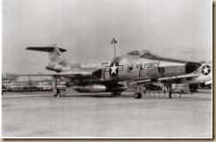 6 RF-101C SUNRUN 56-0168 CAPT BOB BURKHART SPARE