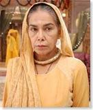 widow with chandan bindi
