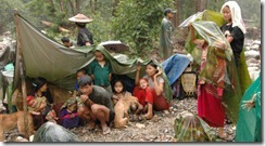 Burma Internally Displace People