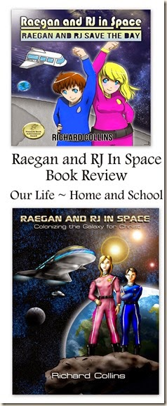 Raegan and RJ In Space Book Review