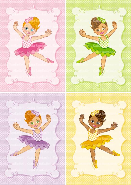 casos e coisas da bonfa uma festa colorida para pequenas bailarinas