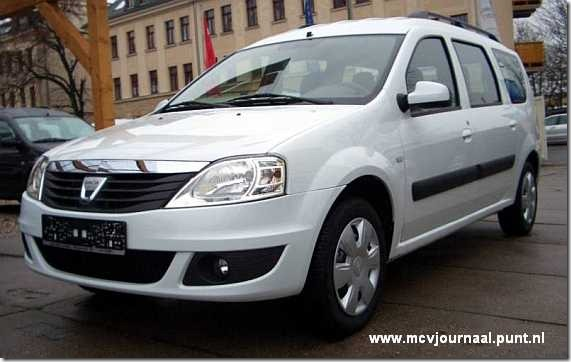 Dacia Logan MCV 2009 wit 01