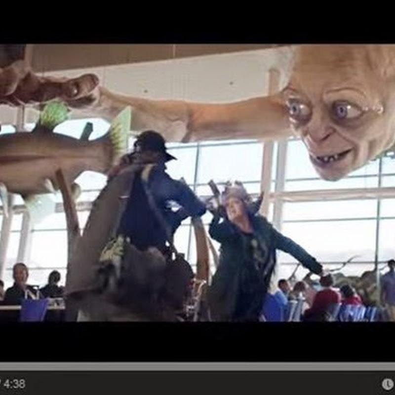 Αεροπορική εταιρεία δημιούργησε βίντεο ασφάλειας με Χομπιτ