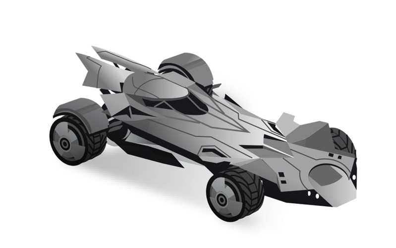 New Batmobile is a 205mph monster   Top Gear