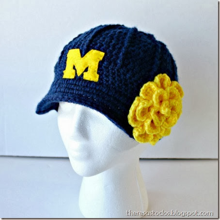 University of Michigan Brimmed Hat