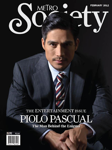 Piolo Pascual covers Metro Society Entertainment Issue (February 2012) where ...