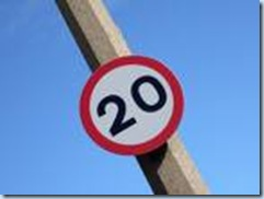 images 20mph sign