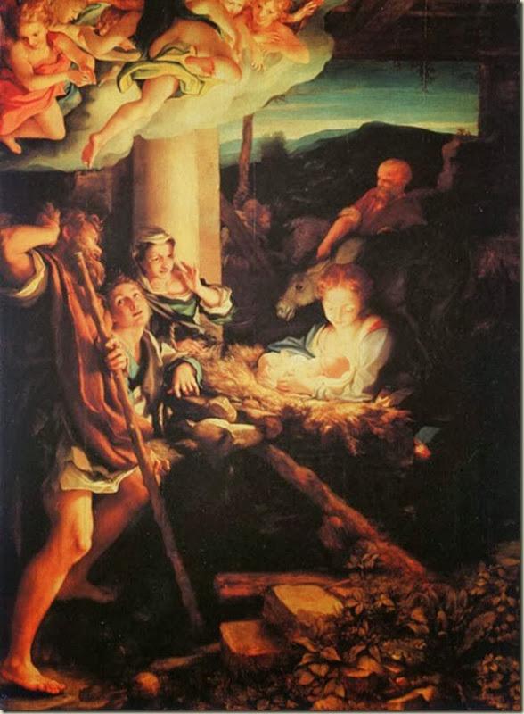Le Corrège, Adoration des bergers