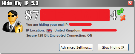 Hiding IP