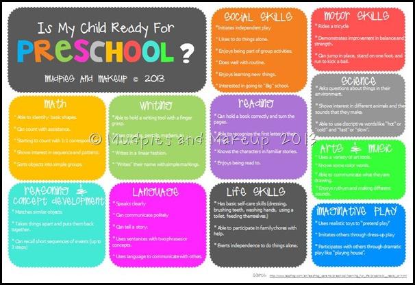 Is My Child Ready For Preschool