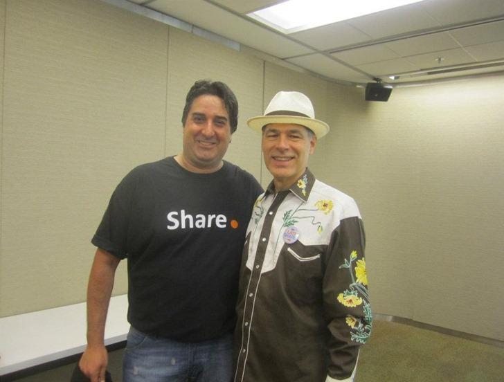 con Mark Miller