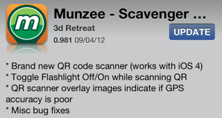 Munzee version 0.981