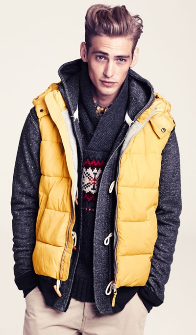 Jeremy Dufour @ Wilhelmina for H&M F/W 2011-12 lookbook