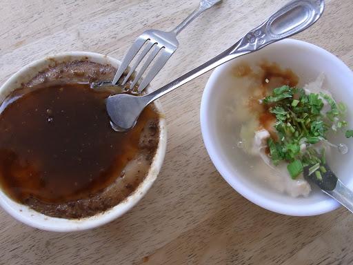 うまいー。碗粿という食べ物。