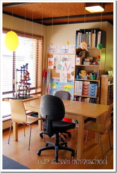 Our Aussie Homeschool | Our Schoolroom | Not Back to School Blog Hop