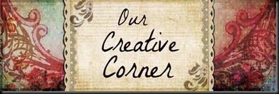 Our Creative Corner banner