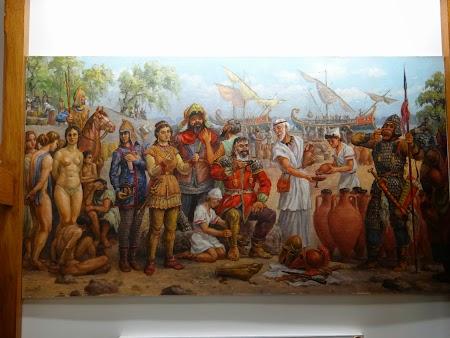 Debarcarea grecilor