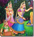 Gopis of Vrindavana