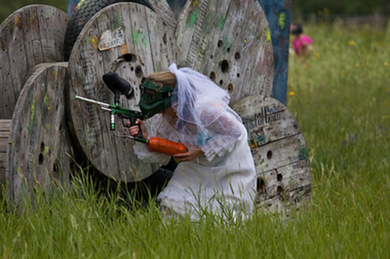 The Paintball Bride 1