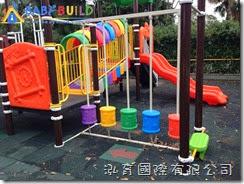 兒童遊戲設施完工