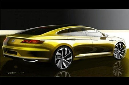 Next-gen Volkswagen Passat CC 2015 previewed 2