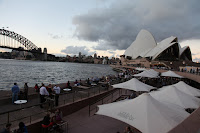 The view at the Opera Bar