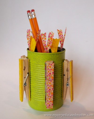 Magnetic Desk Caddie 5  @mvemother #recyclecraft #magnetic #teachergift #teacherappreciation #crafting