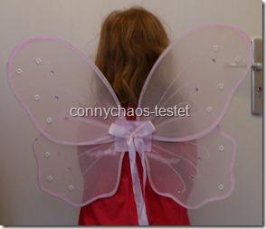 rosa Feenflügel