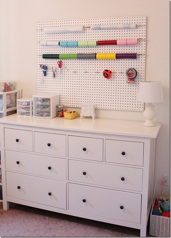 Vinyl and Craft Pegboard