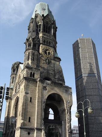 Obiective turistice Germania: Biserica memoriala Berlin