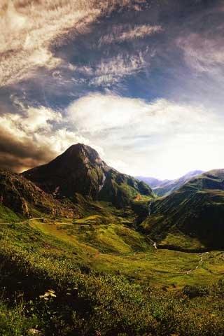 50 Fondos de paisajes para iPhone 4s