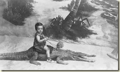 Girl & Alligator