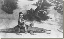 Girl & Alligator