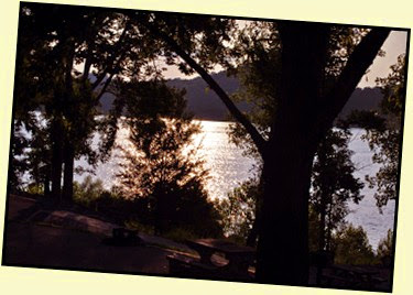 06b - Setting Sun - Sun across the lake