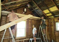 1408122 Aug 10 Terry Terri Mark Trying To Fit Joists